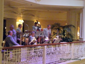 Jazz Band Outside Mizner's Lounge