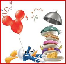 Disney Dining Donald