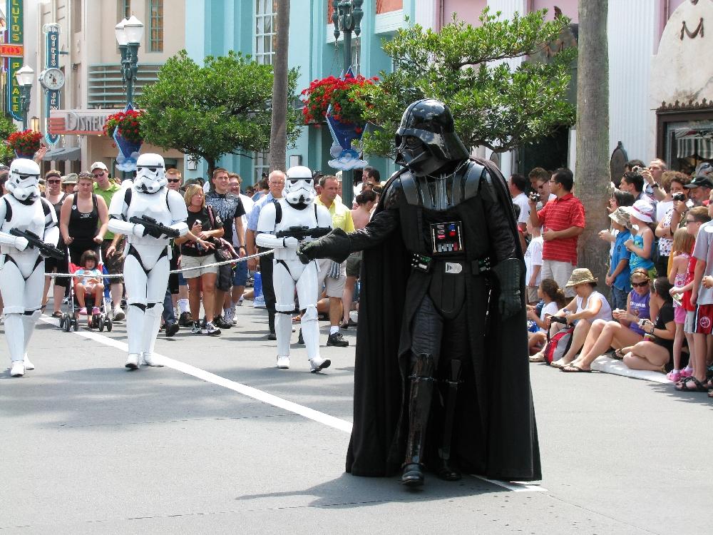 Disney Parade Darth Vader