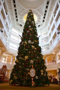 Grand Floridian Christmas Tree
