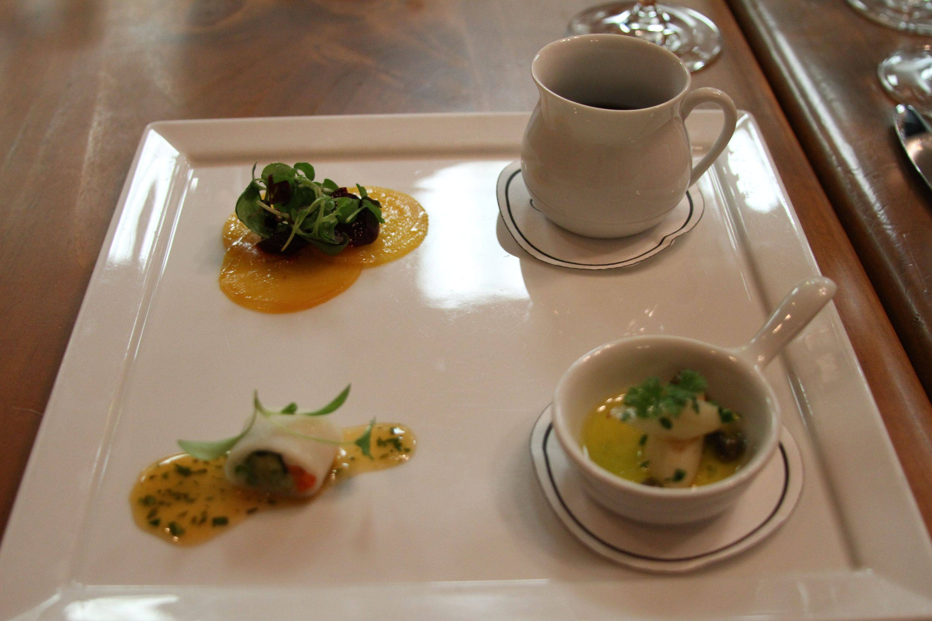 vegan amuse bouche at victoria and albert 39 s chef 39 s table blog touringplans. Black Bedroom Furniture Sets. Home Design Ideas