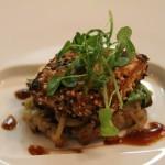Soy-Sake Marinated Tofu