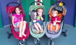 Rented Strollers