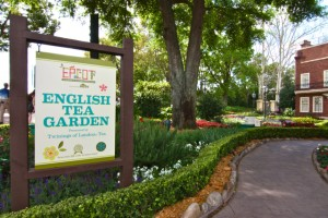 Entrance to the English Tea Garden