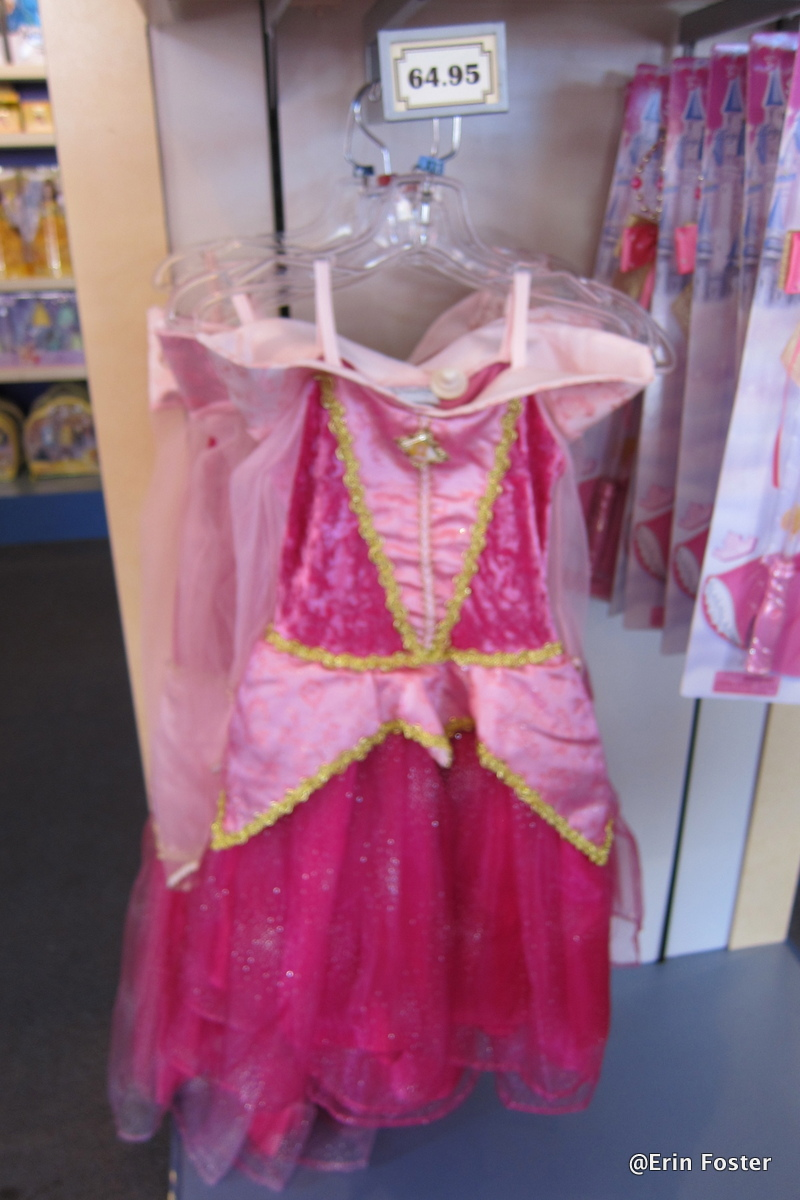 Ariel Winter Dress Inappropriate Sleeping beauty dress sold at