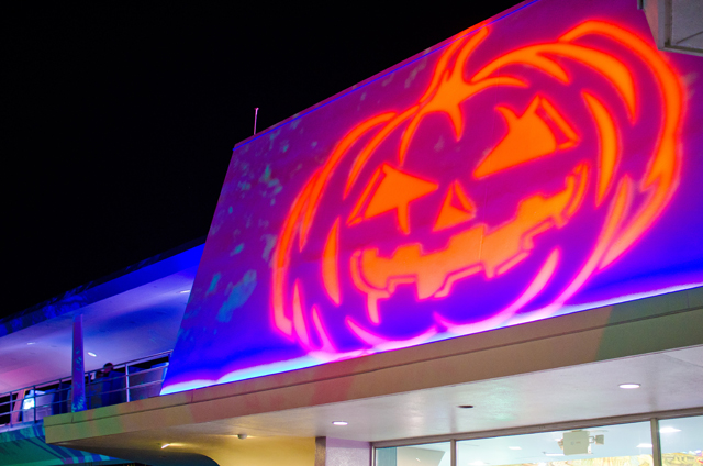 Halloween Projection