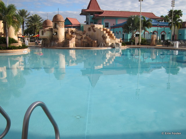 Caribbean Beach Resort, main feature pool