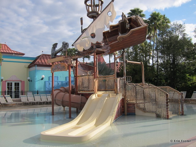 Caribbean Beach Resort, children's aquatic play area