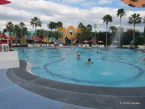 Pop Century Hippy Dippy pool.
