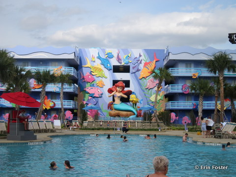 Art of Animation Flippin' Fins pool.