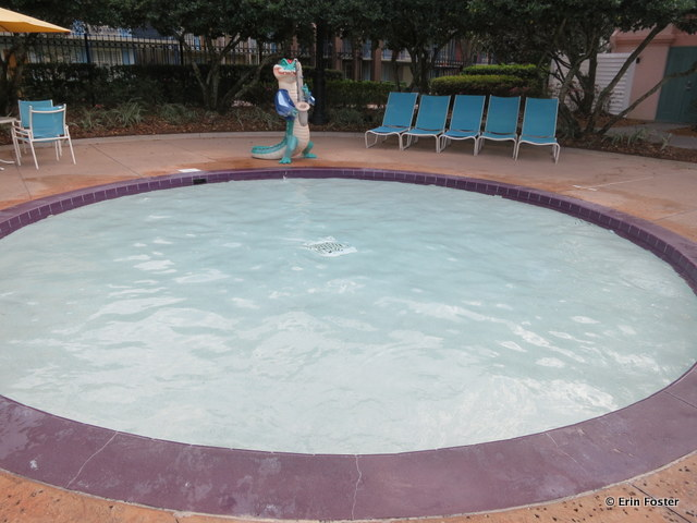 Port Orleans French Quarter, kiddie pool