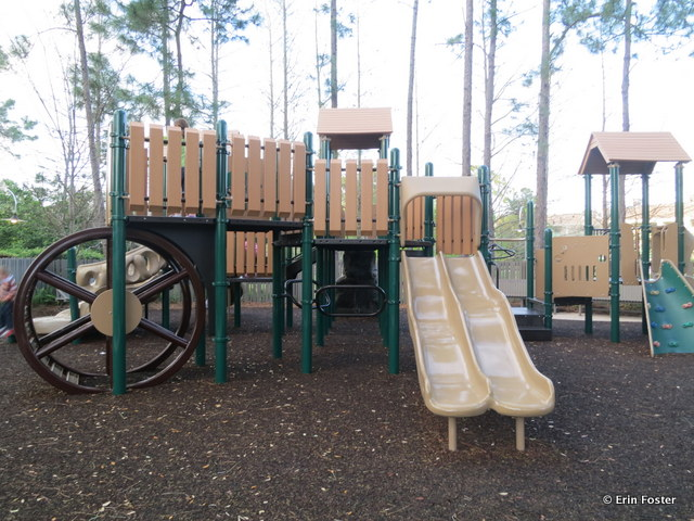 Port Orleans Riverside, playground adjacent to the Ol' Man Island pool