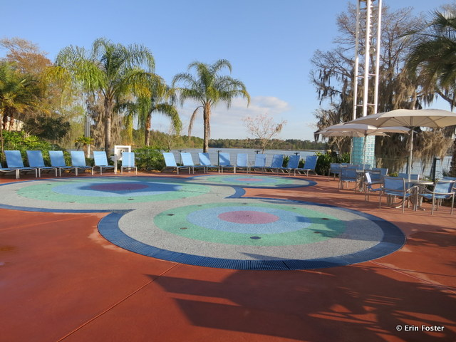 Contemporary, Bay Lake Tower Villas, Children's water play area