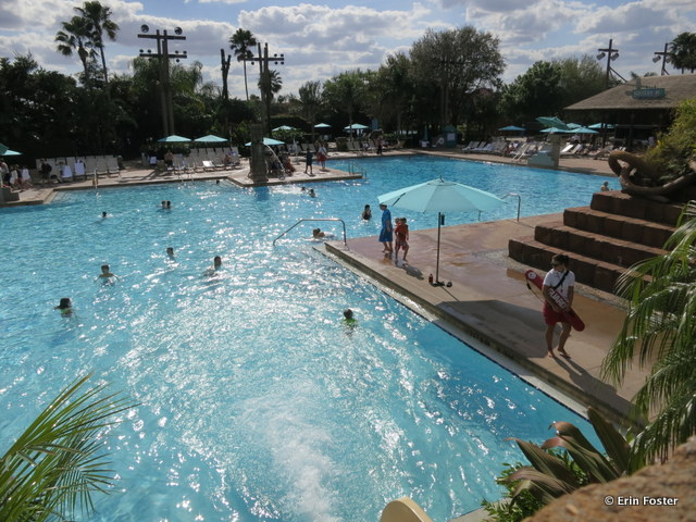 Coronado Springs resort, Dig Site pool overview