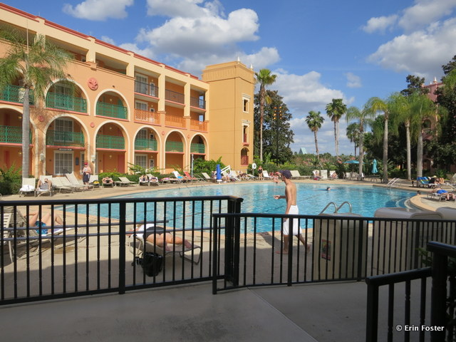 Coronado Springs resort, Casitas guest area quiet pool