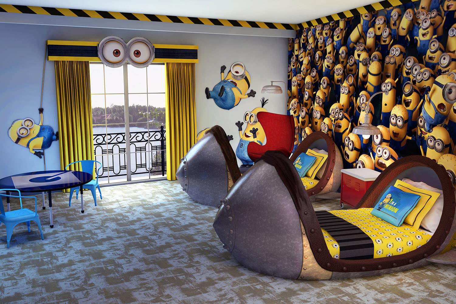 loews portofino bay adds despicable me themed kids suites