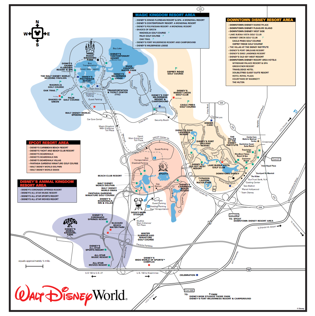 Get to Know the Disney World Transportation and Ticket Center TTC Touring