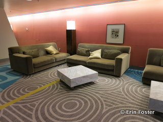 The 2nd floor convention area at the Contemporary is a prime nap zone.