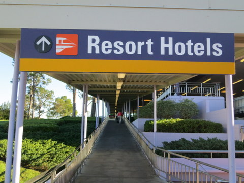 If you want to go from the TTC to the Grand Floridian or Contemporary, be sure to take the Resort Monorail. If you're going to the Polynesian, you can just as easily walk.
