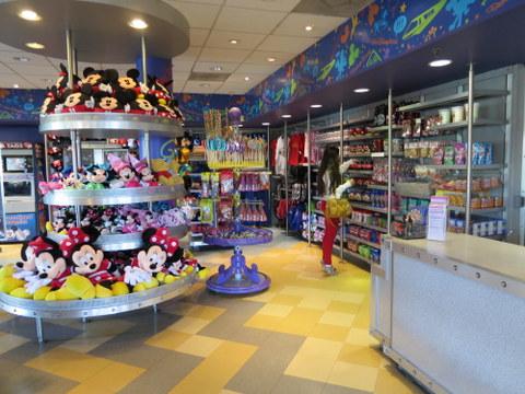 TTC gift shop.
