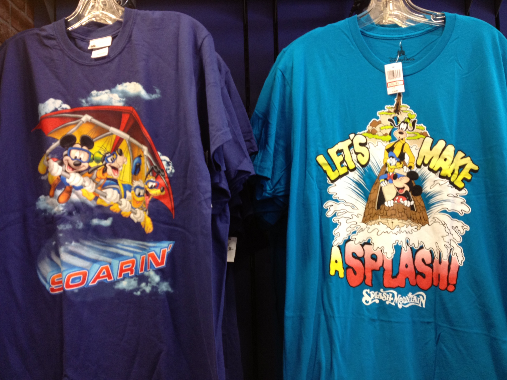 E-Ticket attraction shirts