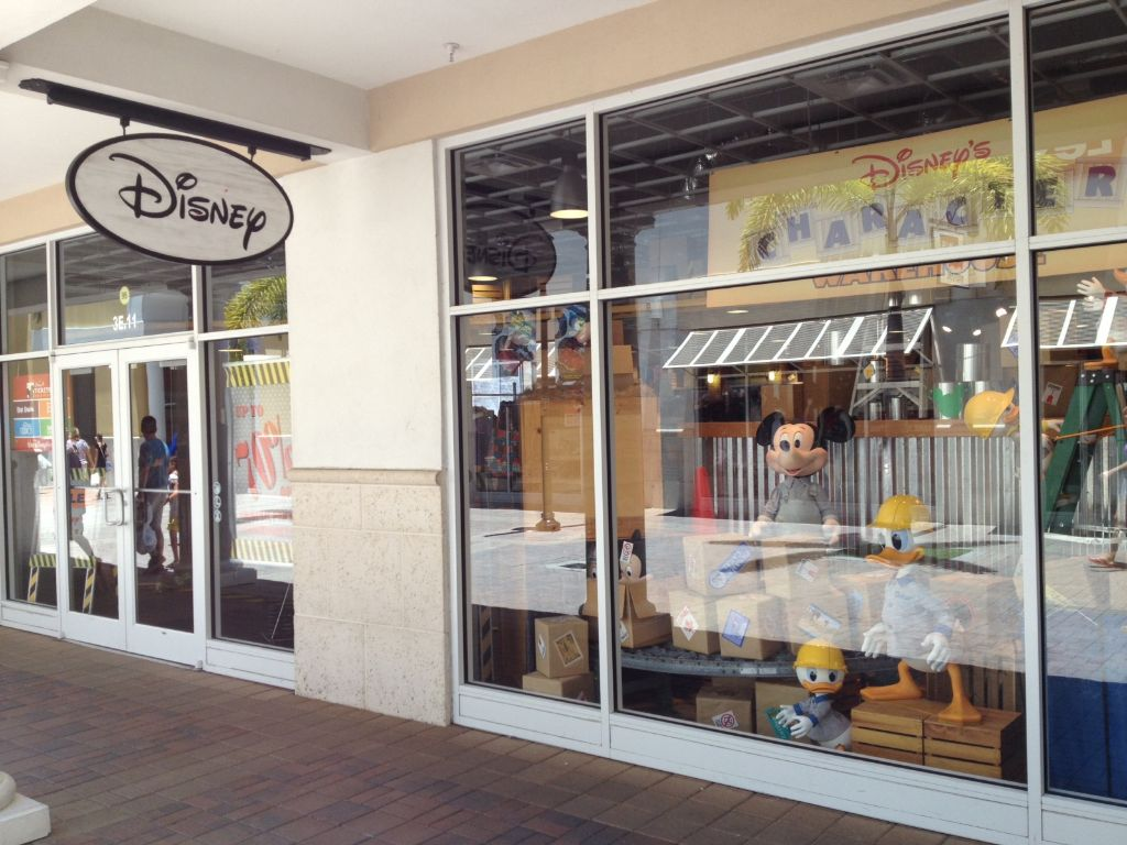 The Disney Character Warehouse Store