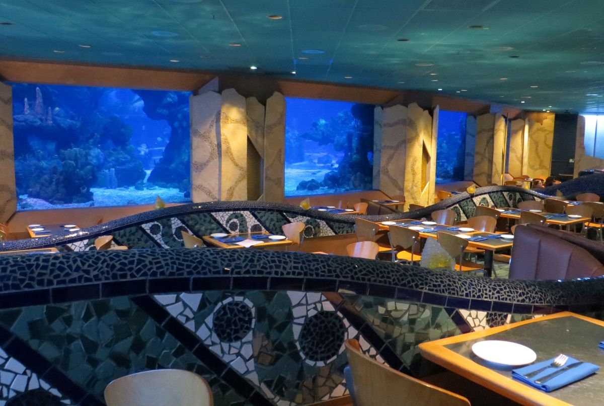 The Coral Reef Restaurant, Epcot.