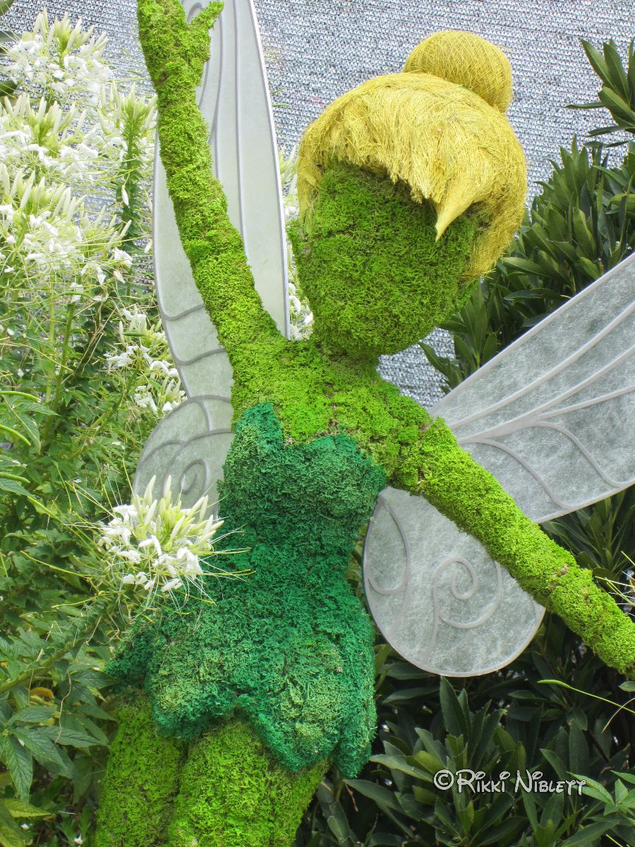 Tinker Bell topiary