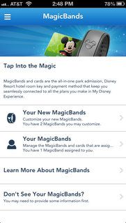 You can also use the MyDisneyExperience app on a smart phone or tablet