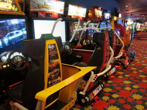 Your resort arcade can keep the kiddos busy when you're not heading to the parks.