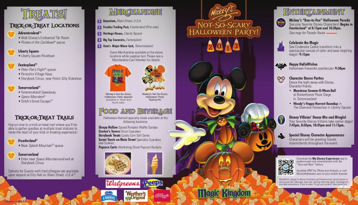 Mickey's Not-So-Scary Halloween Party 2013 - Stone VIPS | Disney ...