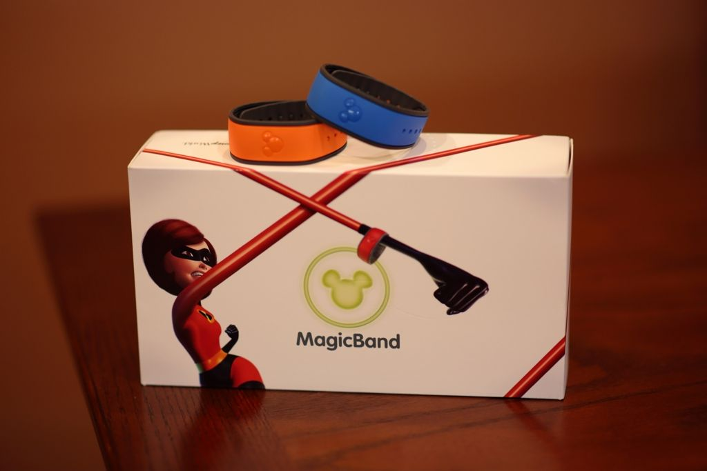 MagicBands and Their Box
