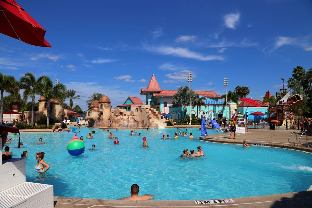 Caribbean Resort Disney Pool