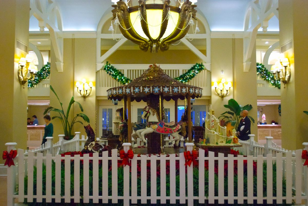 Christmastime at Beach Club Resort