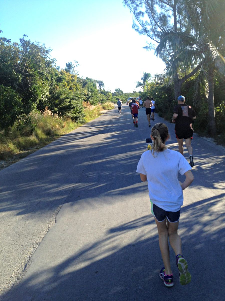 Running in Castaway Cay 5K
