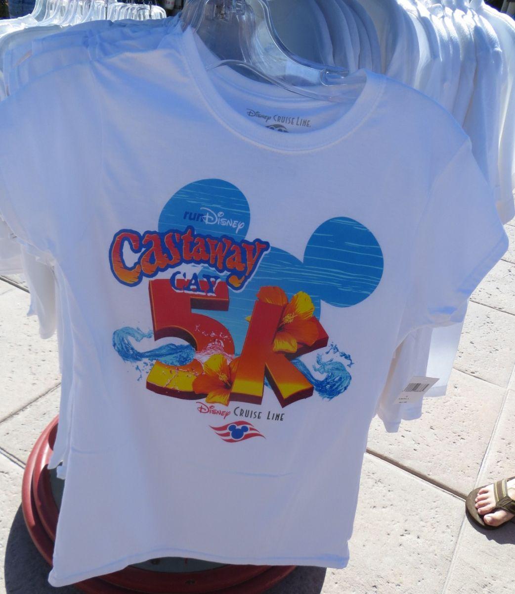 Castaway Cay 5K Women's Shirt
