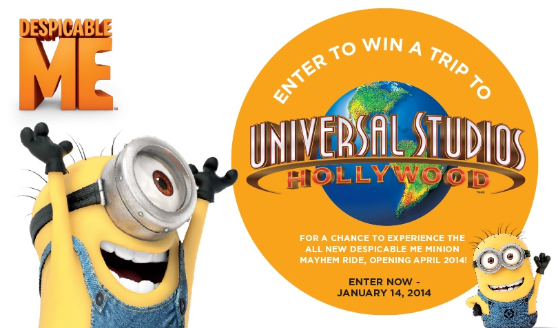 Universal Studios Hollywood Despicable Me Minion Mayhem April 2014
