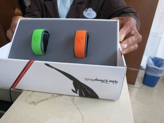 Celebration acknowledgement may change as MagicBands become more prevalent.