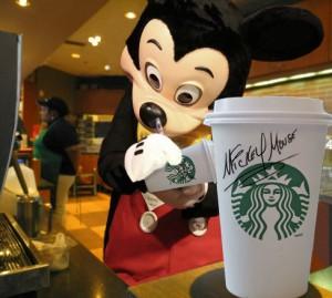 StarbucksMickey