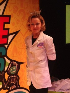 Dr. Erika Ebbel Angle of Science from Scientists at #ScienceThrillsLive presented by Raytheon
