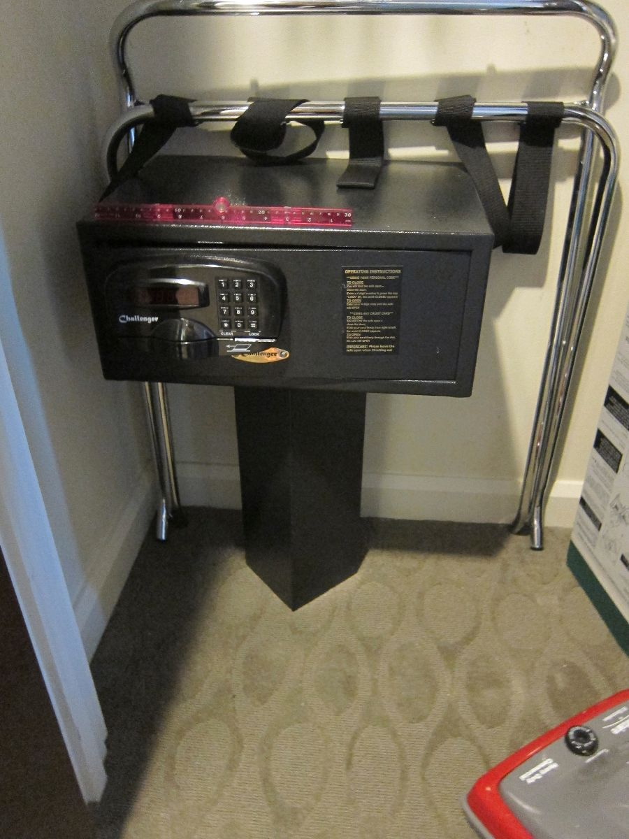 Get to know the safe in your disney world hotel room for Buy safe room