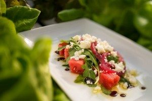 Watermelon Salad Surprise at Epcot Garden Fest