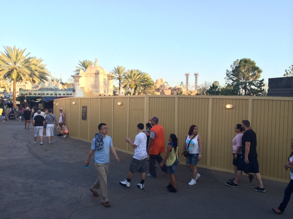 Hogsmeade Station construction PotterWatch leaky cauldron food
