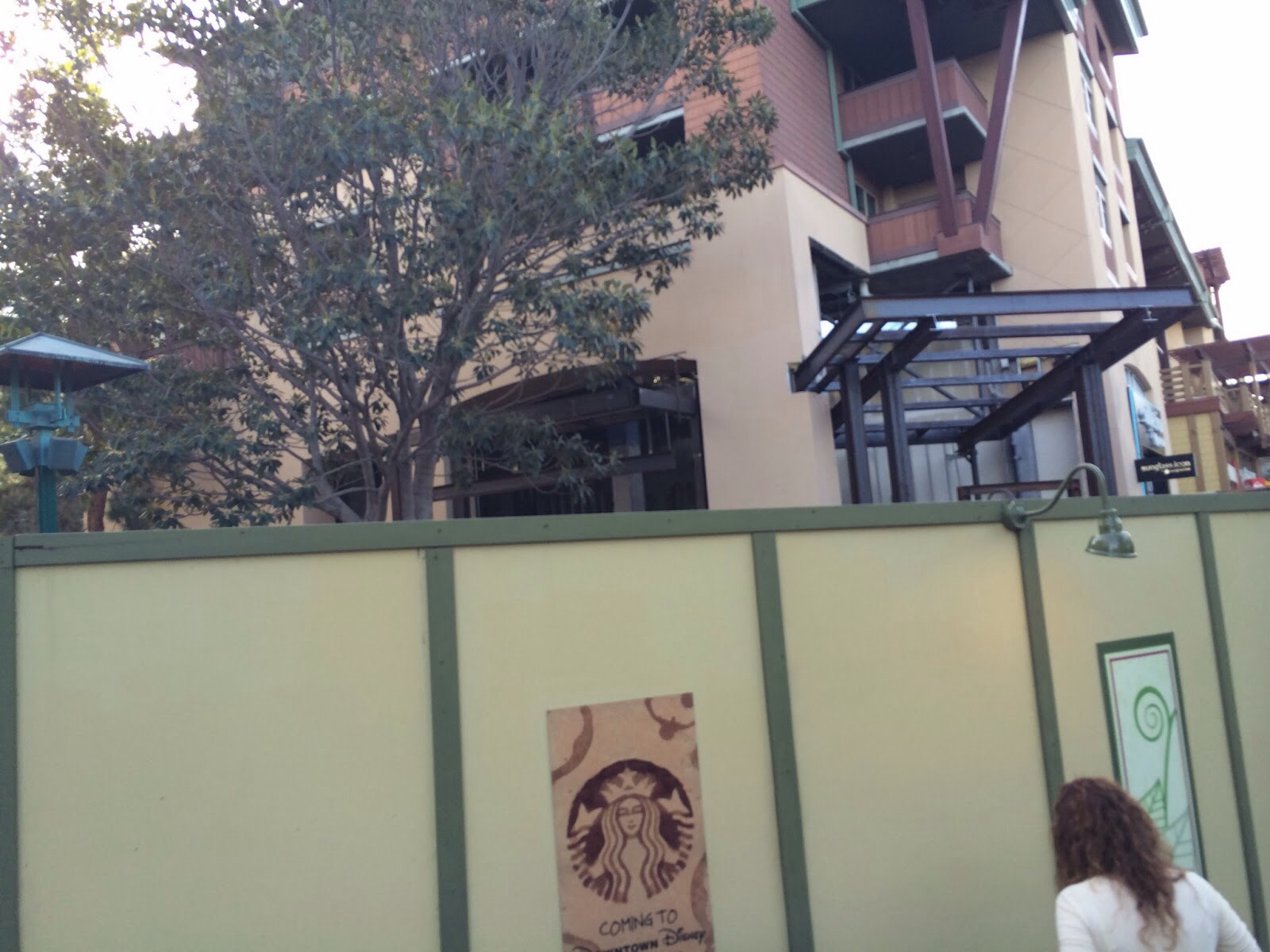 Disneyland Downtown Disney Starbucks