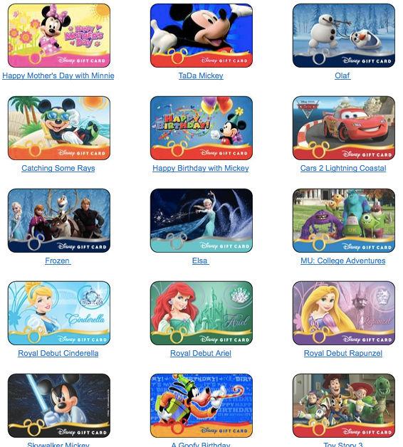 Chase Card Disney Designs