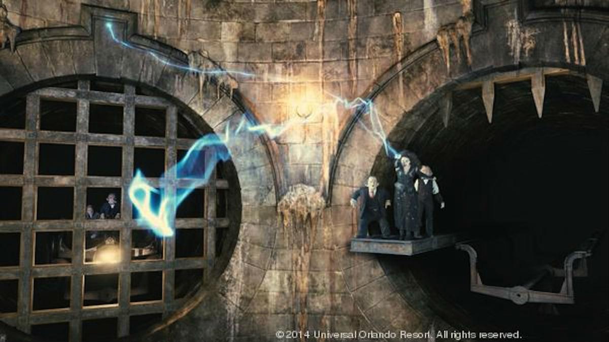 Harry Potter's Escape From Gringotts Bank