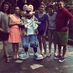 Mickey's going Hawaiian again with the Disney Cruise Line.