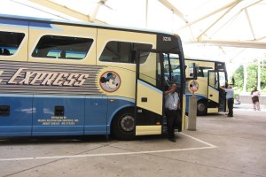 Your arrival procedures will vary depending on how you get from the airport to WDW.