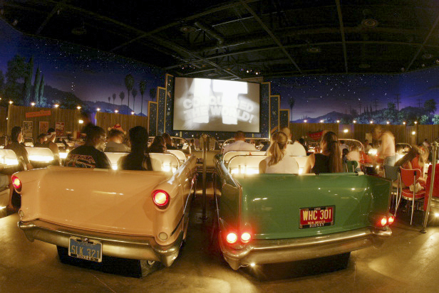 Sci-Fi Dine-In Theater. Photo Courtesy of Disney