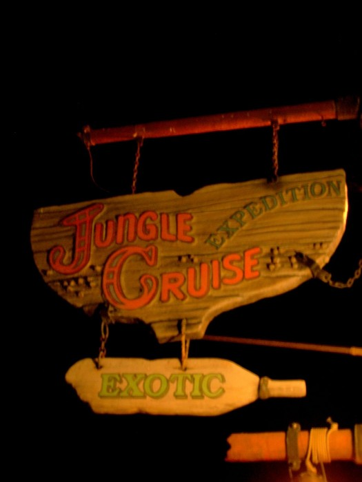 Adventureland's Jungle Cruise.